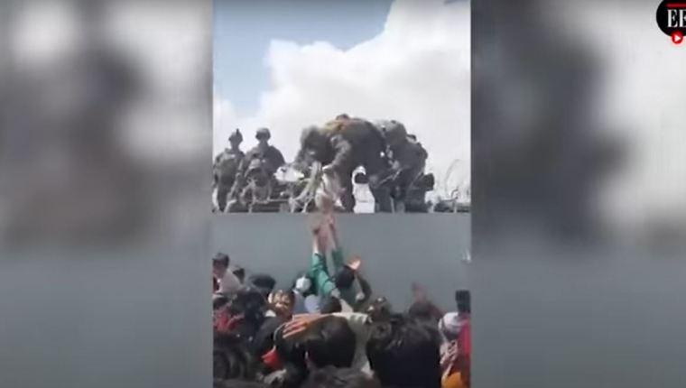 Afganistán: Qué fue de la bebé rescatada por Marines en el aeropuerto de Kabul y que conmovió al mundo