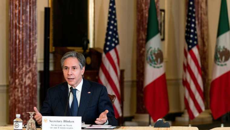 Antony Blinken, secretario de Estado de EE. UU. (Foto Prensa Libre: Reuters)