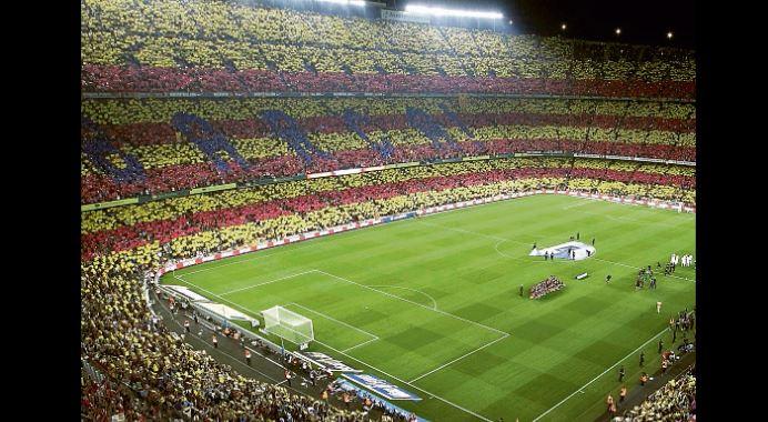 El Camp Nou será la sede del clásico español,  el domingo 24 de octubre. (Foto Prensa Libre: Hemeroteca PL)