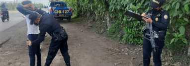 Chimaltenango es uno de los departamentos más afectados por la violencia, según autoridades del Ministerio de Gobernación. (Foto Prensa Libre: PNC)