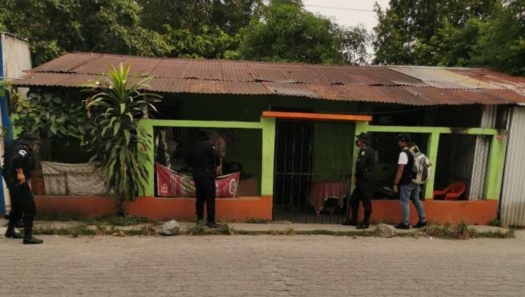 Los allanamientos de la PNC y el MP se efectúan en Petén, Izabal, Jutiapa, El Progreso, Escuintla y Guatemala. (Foto Prensa Libre: MP)