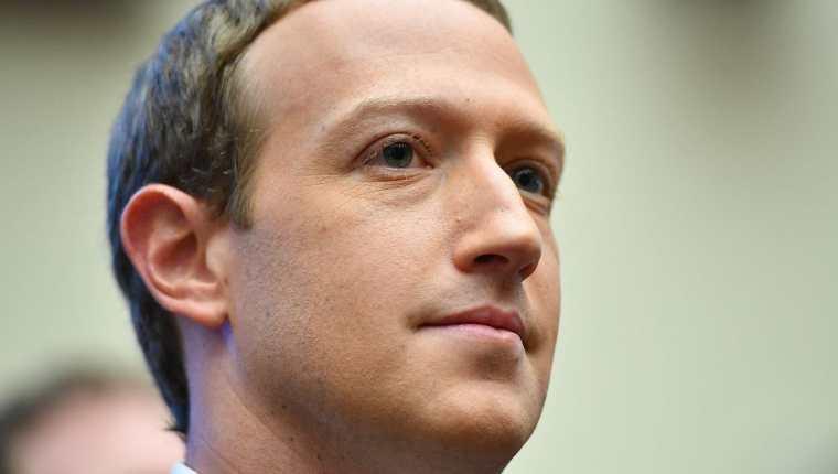 El presidente y director ejecutivo de Facebook, Mark Zuckerberg. (Foto Prensa Libre: AFP)