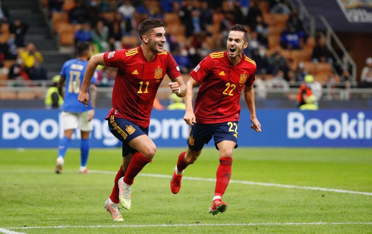 España toma venganza de Italia en la Liga de Naciones y acaba con la histórica racha de 37 partidos sin derrota