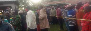 Masten Wanjala, de 20 años, fue linchado en Kenia. (Foto Prensa Libre: Tomada de @KenbwoyM)