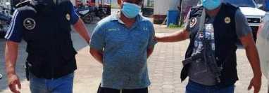 Américo Poroj Ixcot fue capturado por la Policía Nacional Civil por supuestamente abusar y embazar a una niña de 11 años. (Foto Prensa Libre: PNC)