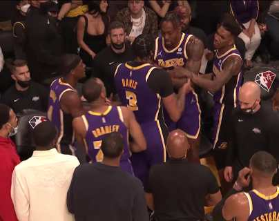 Los Lakers suman otra frustrante derrota; Nets logran primer triunfo ante Sixers