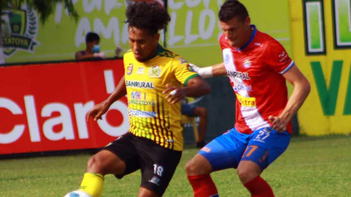 Guastatoya le pegó 3-0 a Xelajú y abandona la última casilla del Apertura 2021