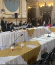 La mayoría de Jefes de Bloque se rehusaron a participar en la sesión del pasado lunes convocada por Allan Rodríguez. Fotografía: Prensa Libre.