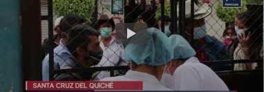 Pacientes del Hospital Regional de Quiché denunciaron a tres médicos y una enfermera. (Foto Prensa Libre:)
