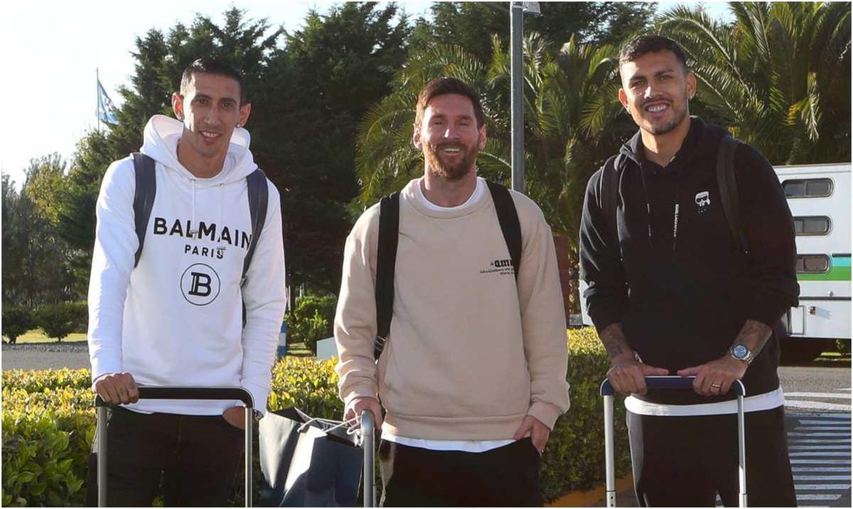 Con Leo Messi en casa Argentina calienta motores para la triple fecha del premundial