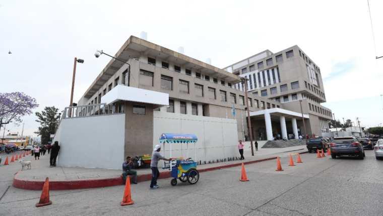 Sede del Ministerio Público en el Barrio Gerona de la capital. (Foto Prensa Libre: Hemeroteca PL)