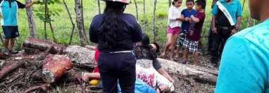 El cazador, Darvin Ariel López, de 27 años, habría muerto a causa de un balazo accidental, según testigos. (Foto Prensa Libre: Facebok)