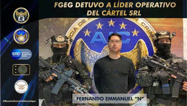El Panther era considerado por las autoridades mexicanas como uno de los principales objetivos en su lucha contra el narcotráfico. (Foto Prensa Libre: Fiscalía de Guanajuato)