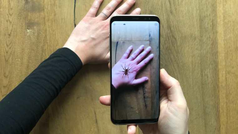 Phobys: aplicación de realidad aumentada que combate la aracnofobia
