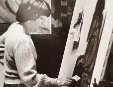 Ingrid Klüssmann es recordada en el gremio artístico de Guatemala por ser galerista y artista.