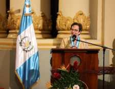 Además de la investigación en temas históricos,  Ana María  Ururuela ha generado piezas de crítica literaria publicadas en Guatemala y en medios de  Puerto Rico y Colombia. (Foto Prensa Libre: Paulo Cesar Raquec Caal, cortesía MCD y Academia de Geografía e Historia)