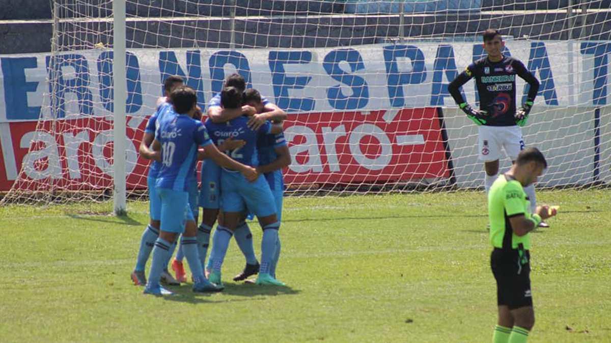 Intenso empate entre Iztapa y Santa Lucía en el inicio de la fecha 14 del Apertura 2021