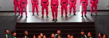 El juego del calamar se ha vuelto una de las series más exitosas de Netflix en 2021. (Foto Prensa Libre: Netflix / EFE)