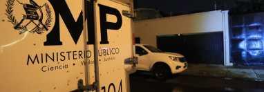 Los cuerpos fueron descubiertos el jueves último. (Foto Prensa Libre: Élmer Vargas)