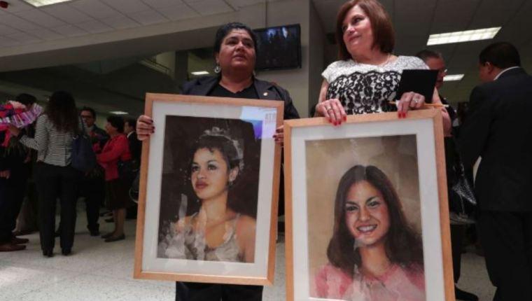 Isabel y Claudina fueron dos víctimas de femicidio por las que el Estado fue condenado y obligado a crear una alerta específica para la búsqueda de mujeres desaparecidas. (Foto Prensa Libre: Hemeroteca PL)