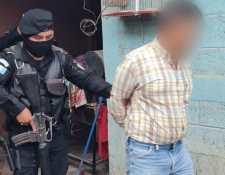 Uno de los coyotes capturados en los operativos de Huehuetenango. (Foto Prensa Libre: PNC)