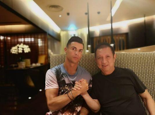 Zuju GP: la nueva plataforma de futbol que lanzarán Peter Lim y Cristiano Ronaldo