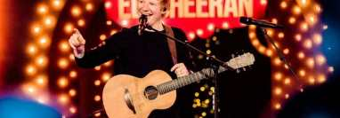 El cantante británico ha dado positivo a covid-19.  (Foto Prensa Libre: Ed Sheran FB)