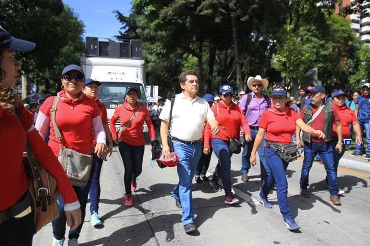 """Joviel Acevedo sobre negociación secreta de pacto colectivo: """"Si eso es ser corrupto, me confieso corrupto"""""""