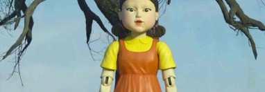 Mugunghwa es el nombre original de la muñeca gigante de El Juego del Calamar. (Foto: Netflix/Instagram)