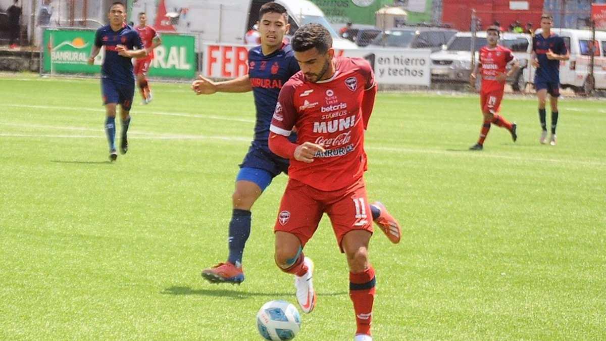 Malacateco venció a Municipal y lo bajó del cuarto puesto del Apertura 2021