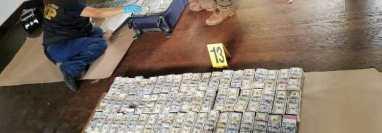 Dinero encontrado en Antigua Guatemala