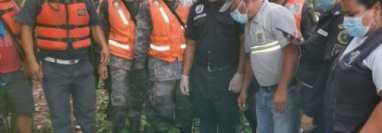 Brigadas que participaron en la búsqueda de la niña. (Foto: Bomberos Municipales Departamentales)