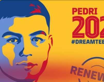 Pedri renueva hasta 2026 con el Barcelona con una cláusula de €1.000 millones