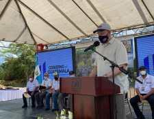 William Popp, embajador de EE. UU. en Guatemala, durante su visita reciente a Petén. (Foto: Embajada de Estados Unidos)