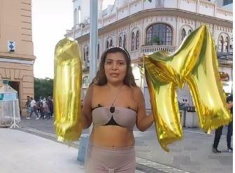Yanira Berríos: la peculiar manera con la que la tiktoker salvadoreña celebró que alcanzó el millón de seguidores